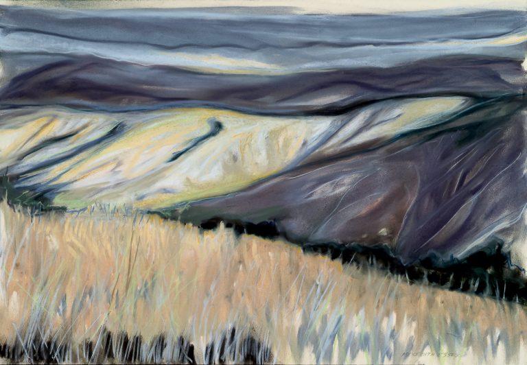 Breaking Light 22x28, pastel on paper