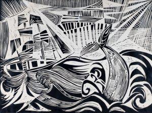 The White Whale | 18 x 24 | 1953