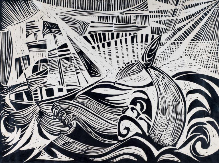 The White Whale 18x24, 1953