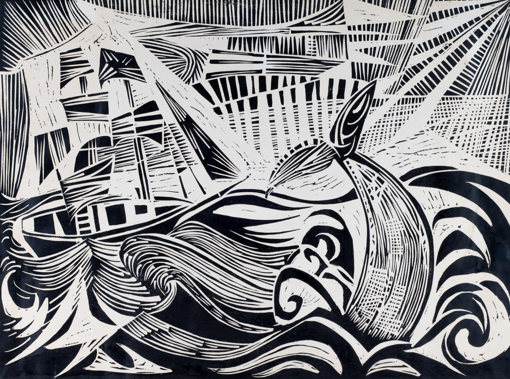 The White Whale   18 x 24   1953