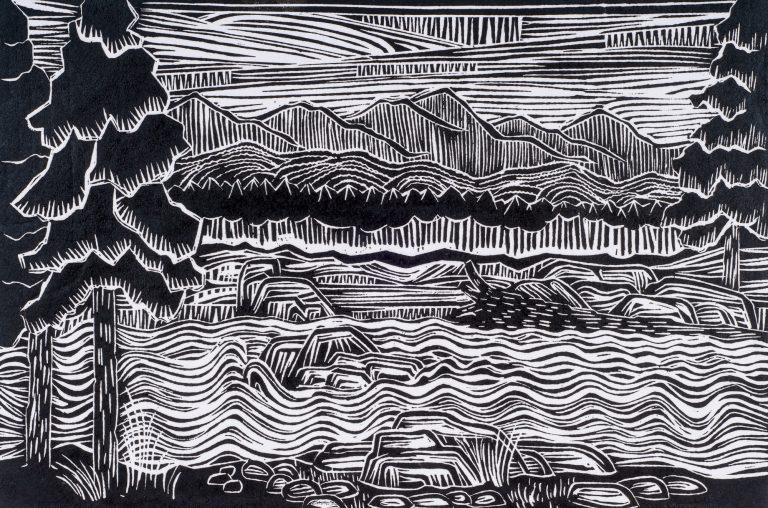 Streamside 12x18, 1984