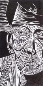 Face | 15 1/4 x 8 | 1997