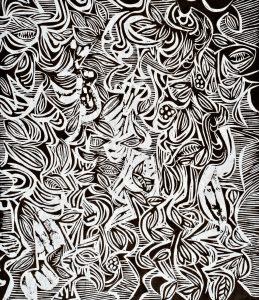 Falling Leaves | 17 ¼ x 14 7/8 | 1998