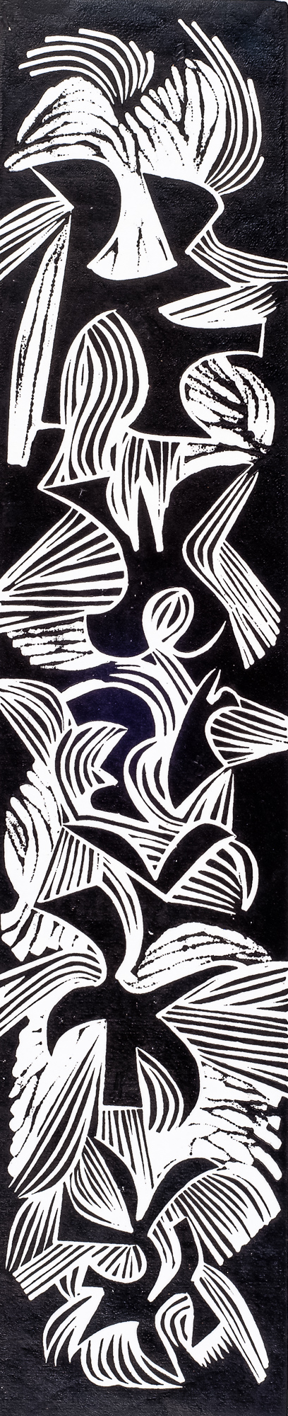 Calligraphia 24½x5⅛, 1964