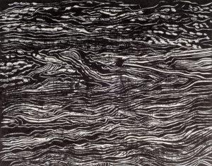Rush Tide | 11 3/8 x 15 | 1998
