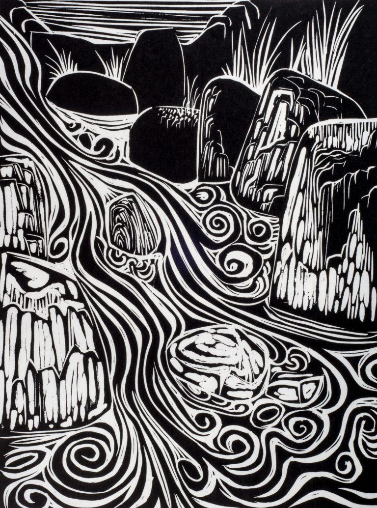 Cascade 21½x15, 1960
