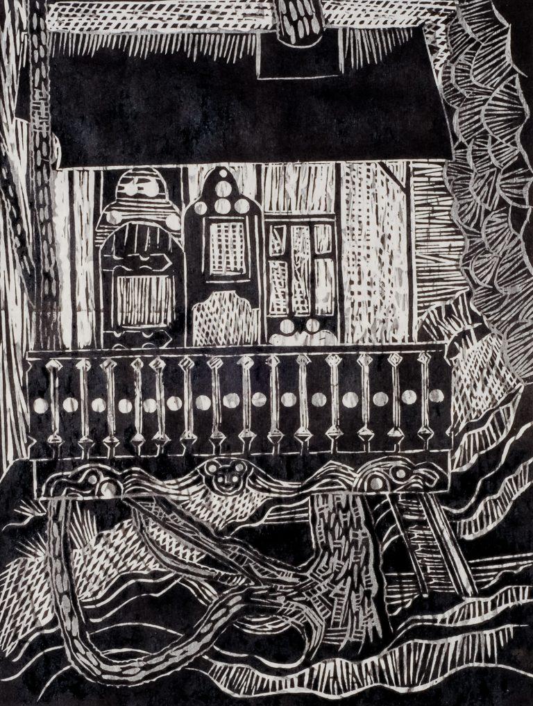 Treehouse 13x10, 2001