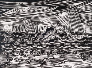 Waves   9 x 12   1984